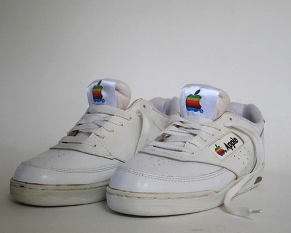 It turns out, there were a pair of shoes to go with Apple s clothing
