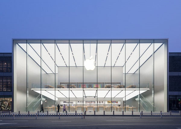 Apple S New China Store Features A Completely Transparent