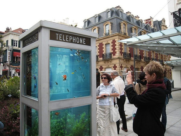 Old Telephone Booths Converted Into Wonderful Outdoor