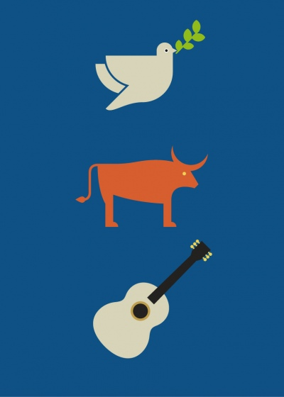 Graphic Design News >> Minimalistic Posters Of Famous Painters For Your Guessing ...