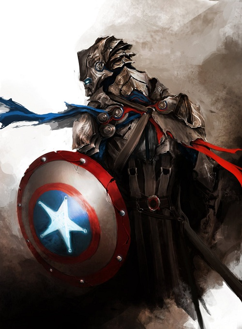 The Avengers' Reimagined As Medieval Knights  DesignTAXIcom