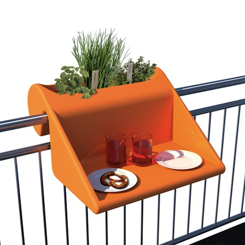 A hook on desk for your balcony for a new view when - Table escamotable balcon ...