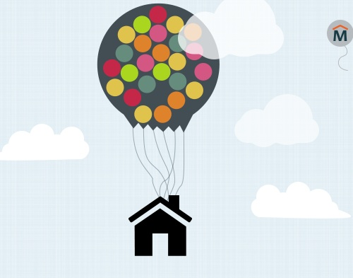 calculator how many balloons you d need to lift your house