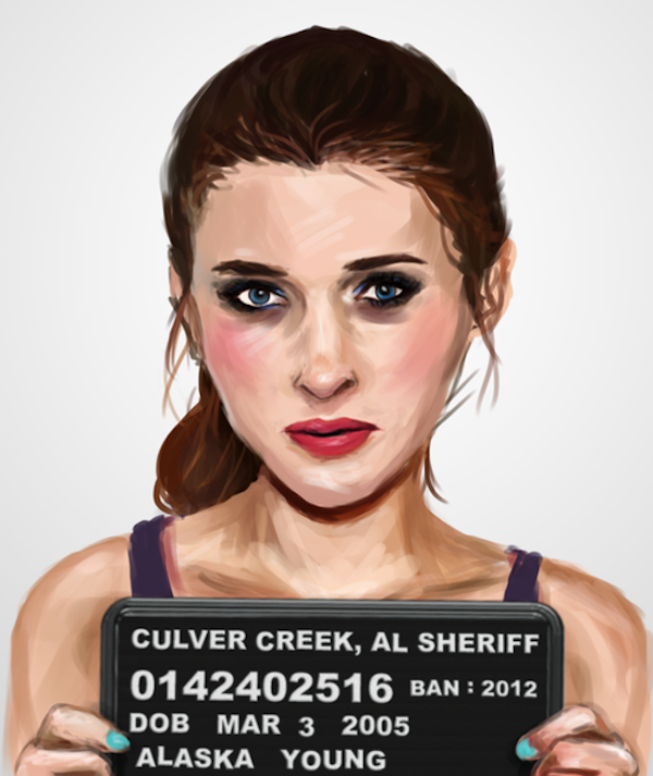 The Mugshots Of Fictional Characters From Famous Banned Books Designtaxi Com