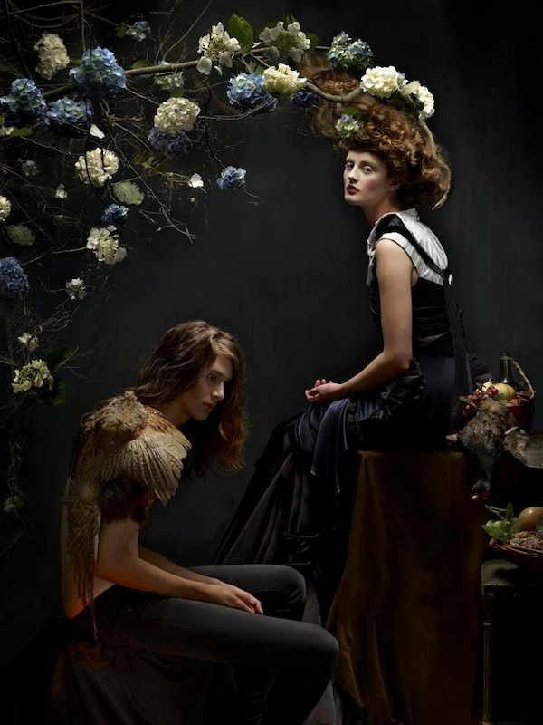 Series inspired by baroque still life paintings quirkyone for Modern baroque art
