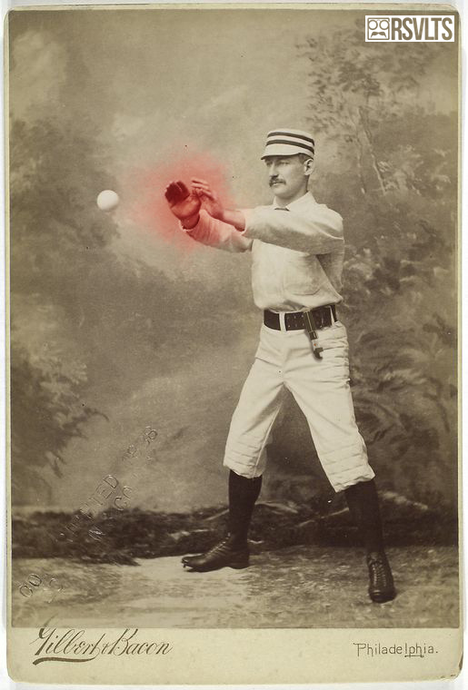 Vintage Photos Of Baseball Players Gets A Hilarious Star