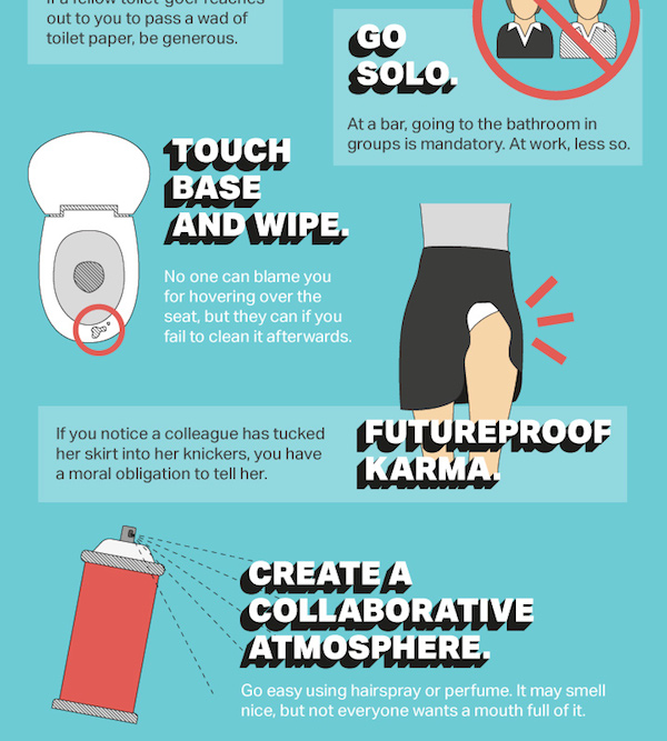 Bathroom Etiquette liam thinks!: infographic: the ultimate guide to office bathroom