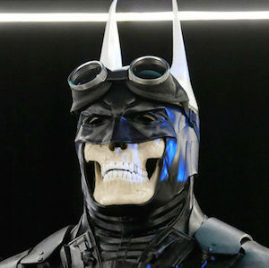 New Designs For Batman S Cowl Unveiled At Comic Con