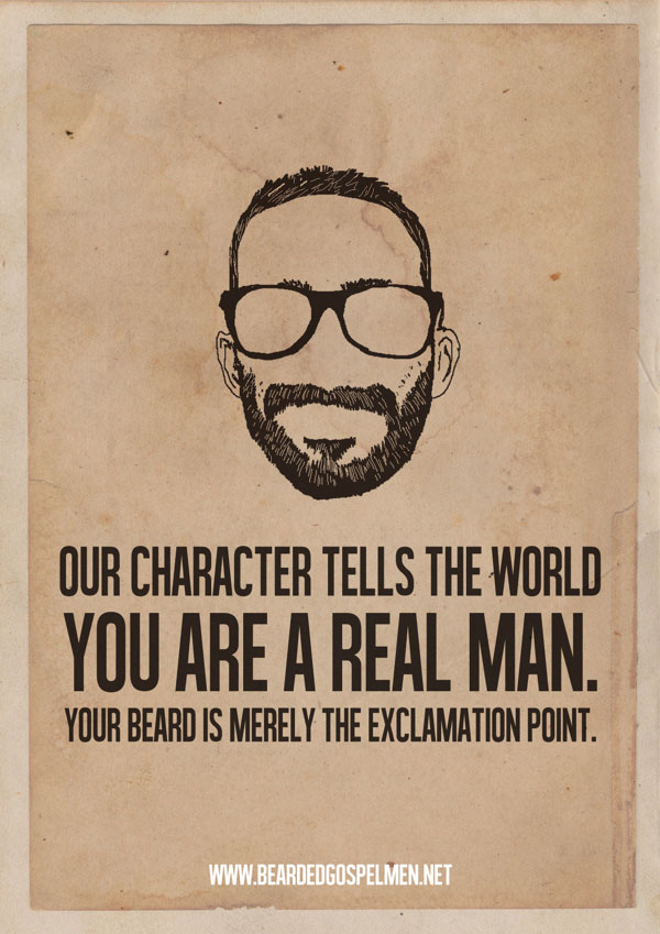 Minimalist Posters Of Hilarious Quotes About Why Beards
