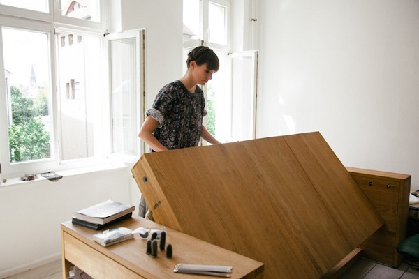 A Stylish, Multi-Functional Desk That Can Be Transformed Into A ...