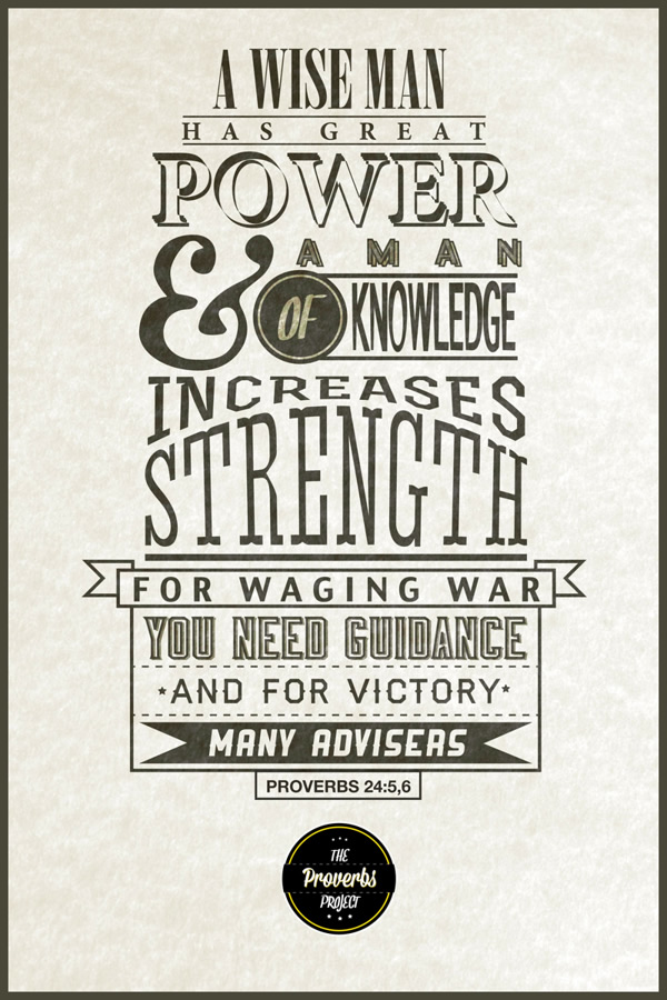 Beautiful Typographic Posters Of Quotes From The Bible ...