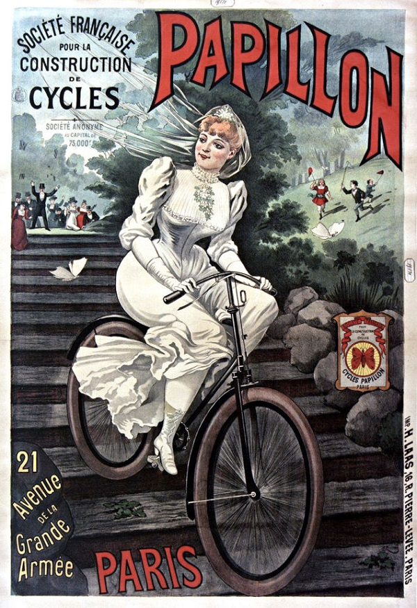 A Beautiful Collection Of Vintage Bicycle Ads - DesignTAXI.com