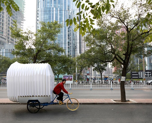 Mobile Living For The Future: A Minimalistic Tricycle House ...
