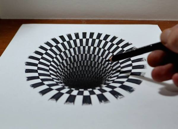Designer Shows How An Astoundingly Realistic 3D Drawing Of ...