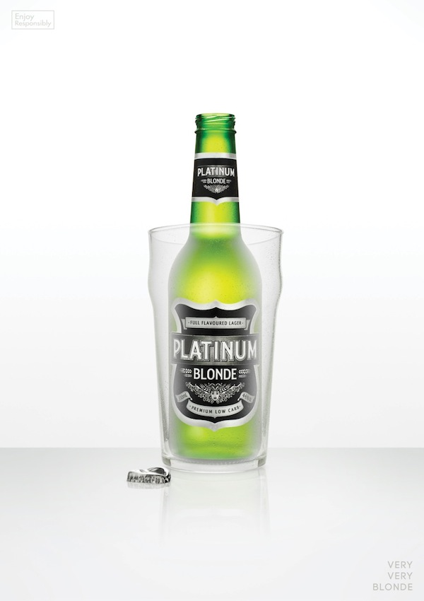 Platinum Blonde Beer Makes Use Of Blonde Stereotypes To