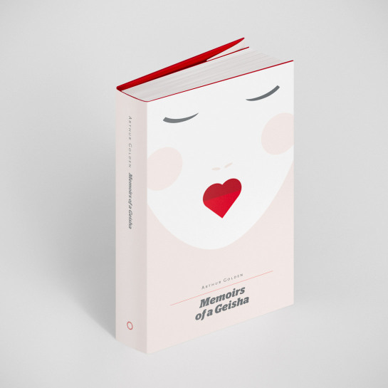 Popular book covers get redesigned for valentine s day for Best books on minimalism