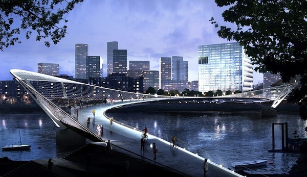 Beautiful and awesome designs for an upcoming bridge in for Design bridge london