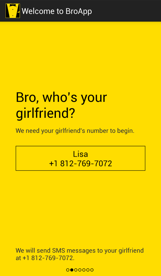 Broapp Helps Men Send Automated Romantic Texts To