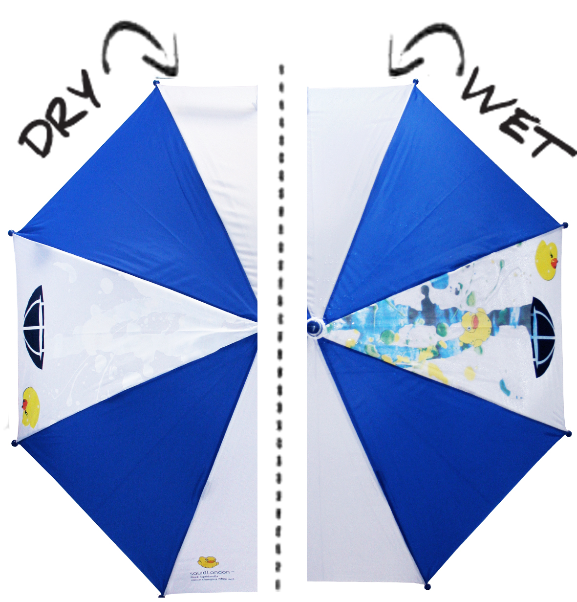 Umbrellas Change Color When Wet Feel Desain Your Daily