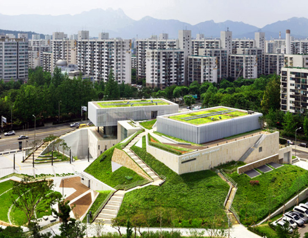 Liam Thinks Green Rooftop Spruces Up Museum Of Art In Seoul