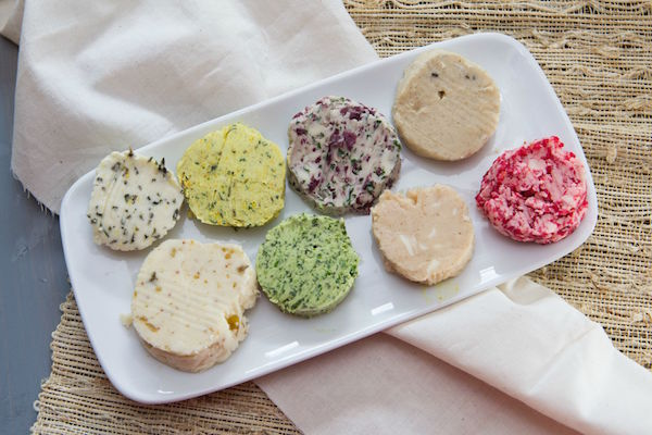 ... compound butters , which are a twist on what we usually spread on our