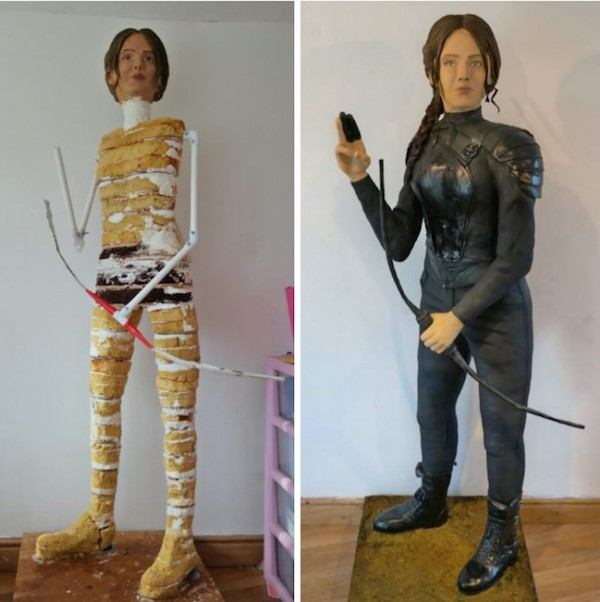 The Hunger Games Fan Bakes Incredible Life Sized Katniss