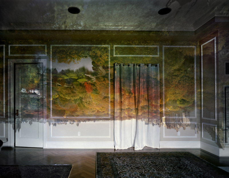 Surreal Photos Created By Projecting Stunning Outdoor Views Onto Rooms' Walls