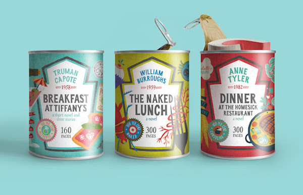 Liam Thinks Brilliant Canned Food Packaging For Books With Meal - 18 brilliant packaging designs