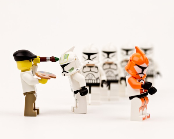Brilliant Lego Made Scenes Of Star Wars Characters In