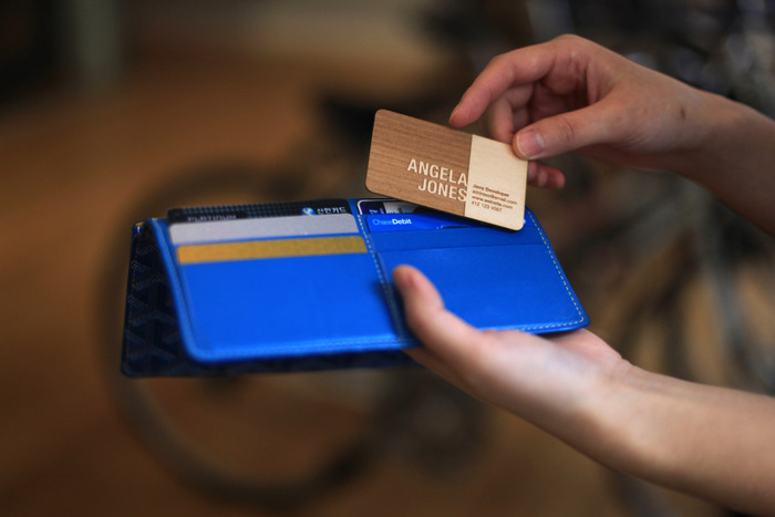 Engraved wooden business cards let you stand out from the engraved wooden business cards let you stand out from the competition colourmoves