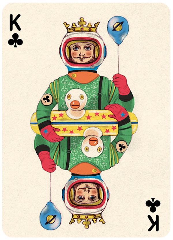 Illustrator Gives Each Playing Card An Interesting Personality
