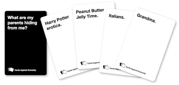 Hilarious Card Game Lets You Indulge In Being Horrible Designtaxi