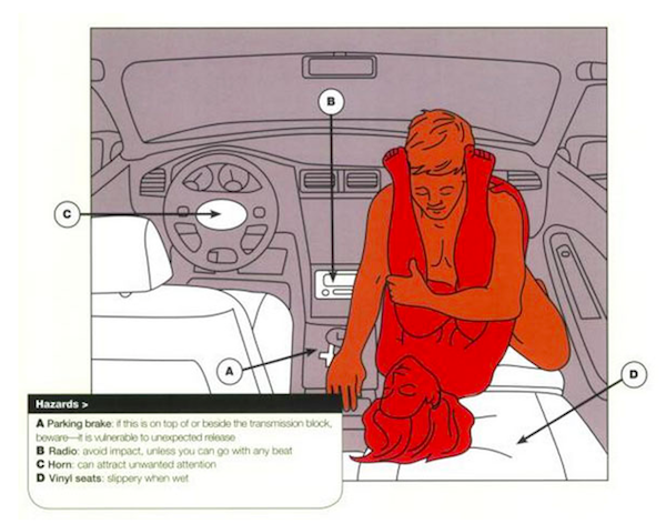 Sex positions you can do in a car