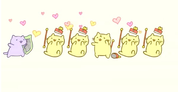 Cat Marching Band Gif