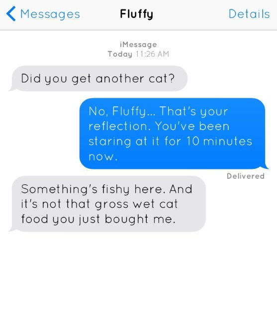 If Dogs And Cats Could Text