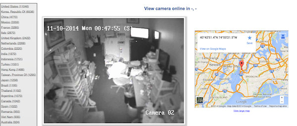 Is this creepy website live-streaming YOUR living room