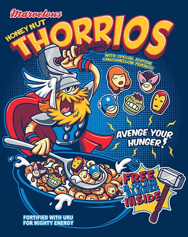 St Louis Taxi >> If 'The Avengers' Were Cereal Mascots... - DesignTAXI.com