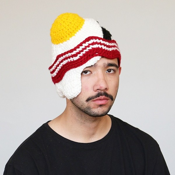 acf7331e Stay Warm This Winter With These Funny Hats That Look Like Donuts ...