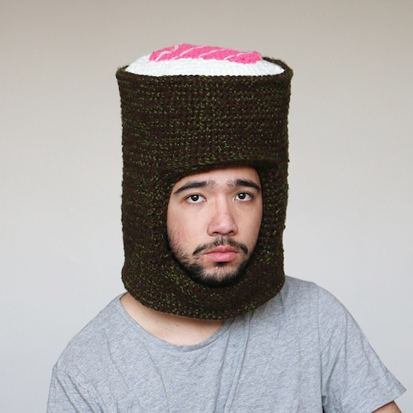 f1fa4d17 Stay Warm This Winter With These Funny Hats That Look Like Donuts, Burgers  - DesignTAXI.com
