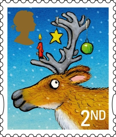 Royal Mail Unveils Christmas 2012 Stamps By Children S