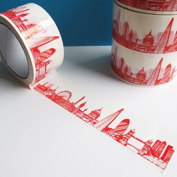 based artist cecily vessey created a line of decorative sticky tape