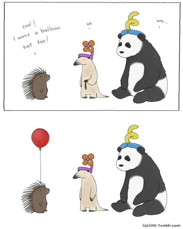 Adorable And Witty Comics Of Animals Having Conversations