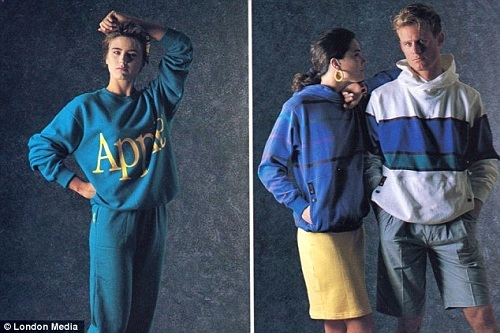 Apple S Clothing Line From The 80s Designtaxi Com