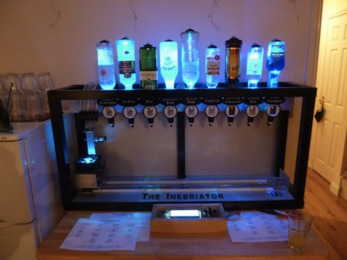 automated bartender machine