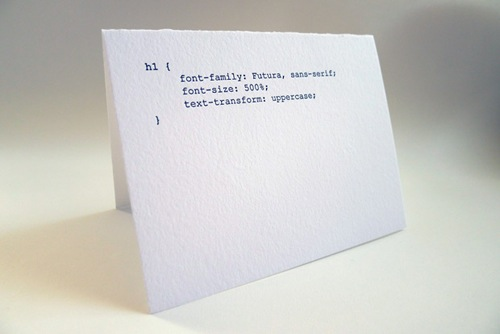 Greeting Cards For The Nerdy Web Developers Designtaxi