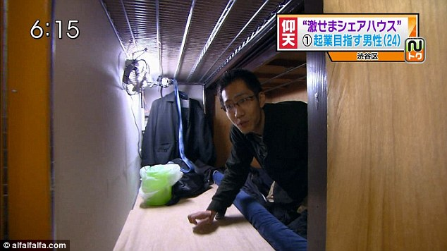In Japan Tiny Apartments The Size Of Coffins