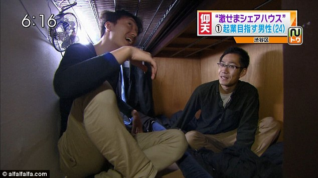 In Japan, Tiny Apartments The Size Of 'Coffins' - DesignTAXI.
