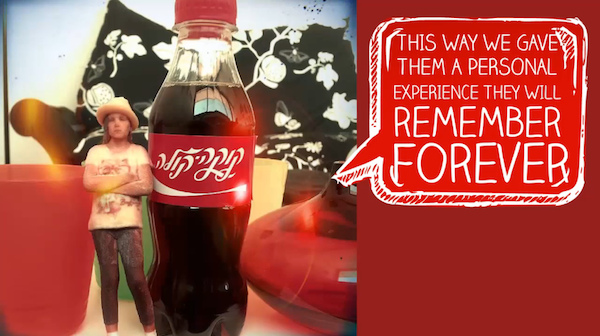 an overview of the stunning share a coke with coca cola campaign The original share a coke campaign was one of coca-cola gb's most popular   these bottles are also your passport to an incredible holiday.