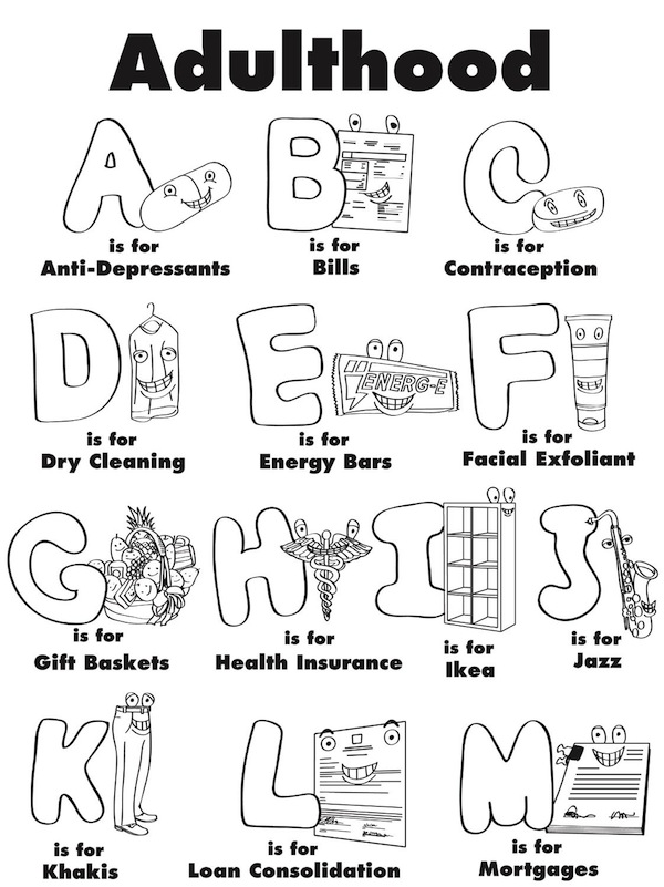 activity book adult