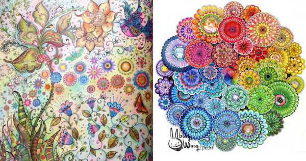 Beautiful Coloring Books For Adults Encourage You To Unleash Your